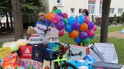 Минский детдом №3 получил подарки от Союза юристов