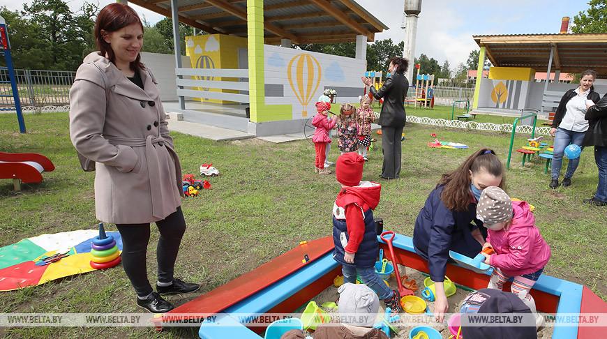 Детский сад на 65 мест открыли в Гомельском районе
