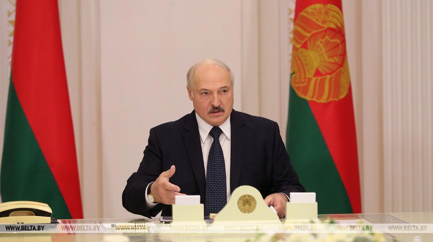 У Лукашенко обсудили ход строительства под Минском высокотехнологичного агропроизводства
