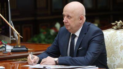 Сивак доложил Лукашенко о ситуации в Минске и градостроительных проектах