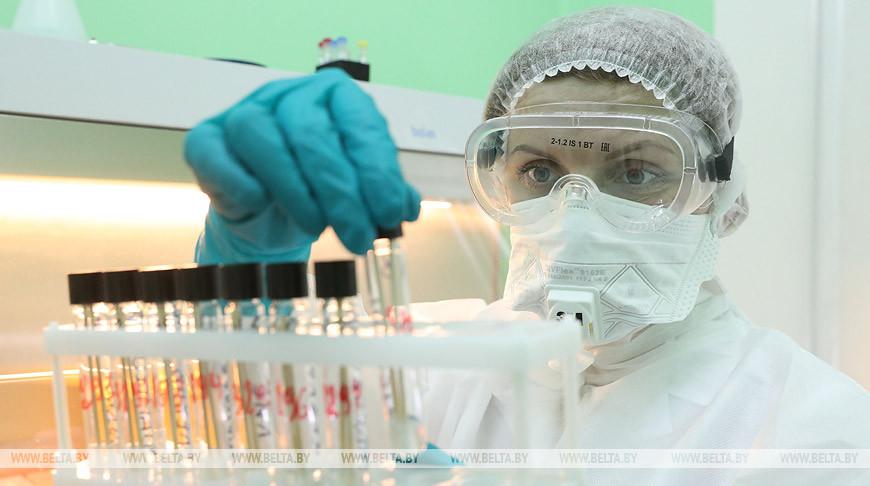 Тесты на COVID-19 выполняют в Гродненском медуниверситете