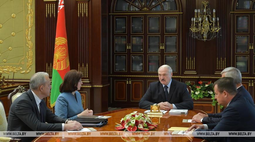 Предложения по новому составу правительства обсуждены на совещании у Лукашенко