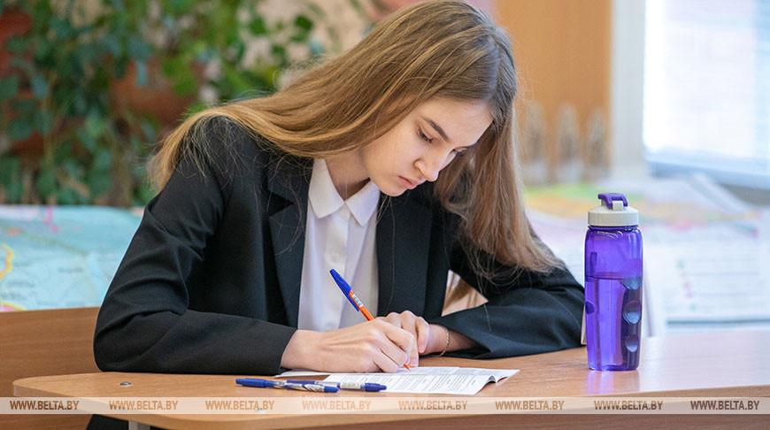 В школах идут выпускные экзамены