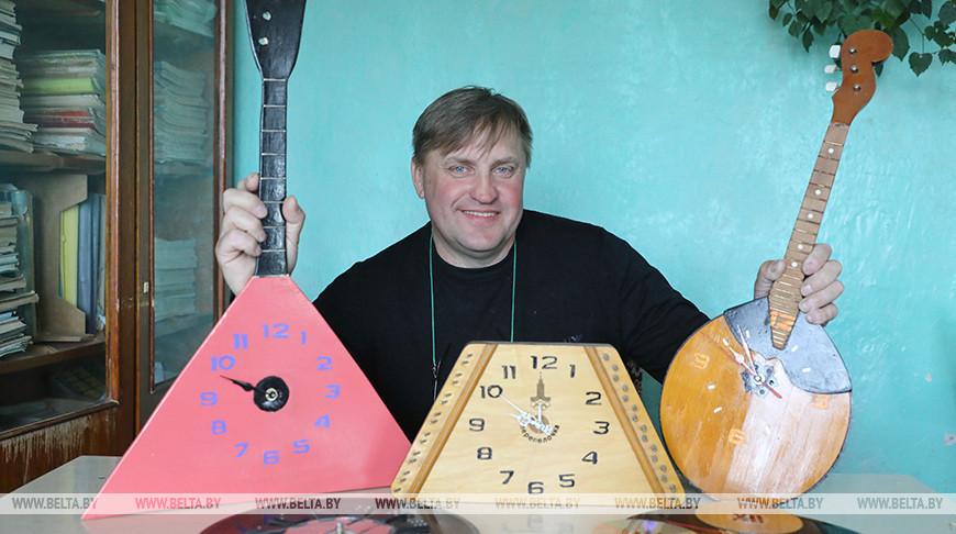 Педагог из Ушачей дает вторую жизнь музыкальным инструментам