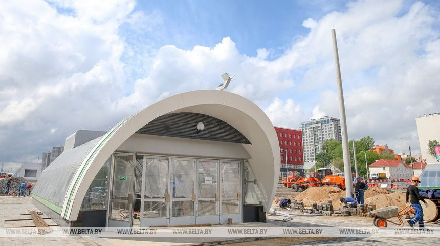 """Станция """"Ковальская Слобода"""" готовится к вводу в эксплуатацию"""