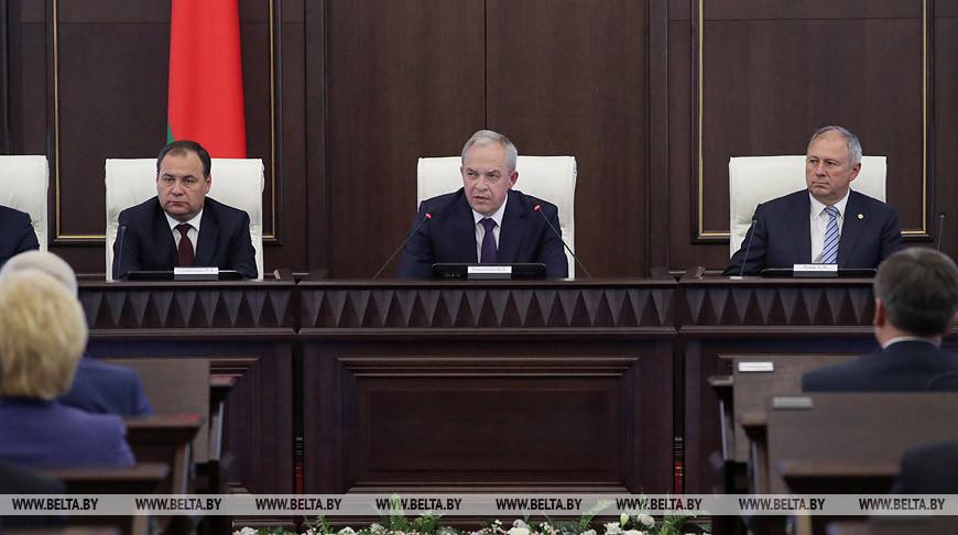 Нового премьера представили Совету Министров