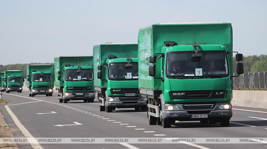 Вторая партия гуманитарной помощи прибыла из Польши в Беларусь