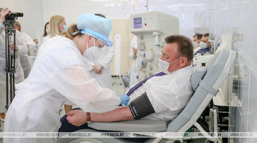 В Беларуси более 300 человек стали донорами плазмы