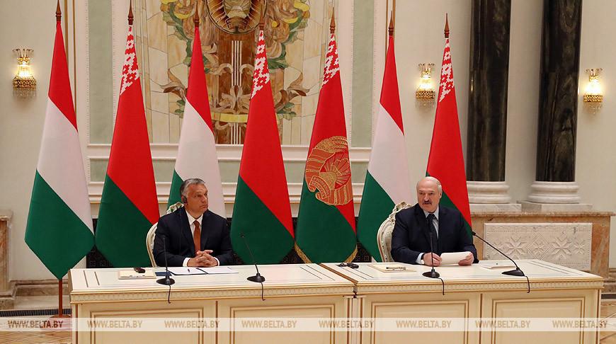Лукашенко рассчитывает на рост товарооборота с Венгрией в ближайшие годы до 500 млн евро