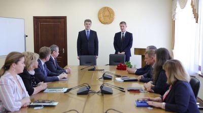 Коллективу Минстройархитектуры представили нового руководителя