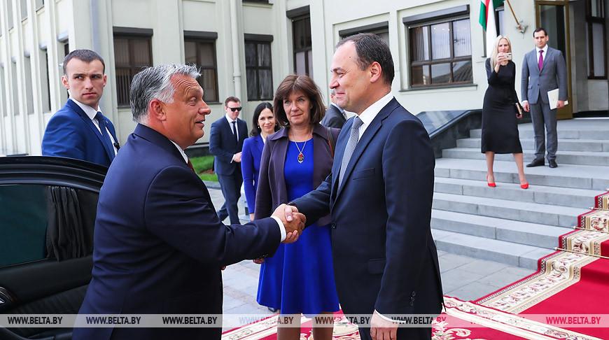Головченко встретился с премьер-министром Венгрии Виктором Орбаном