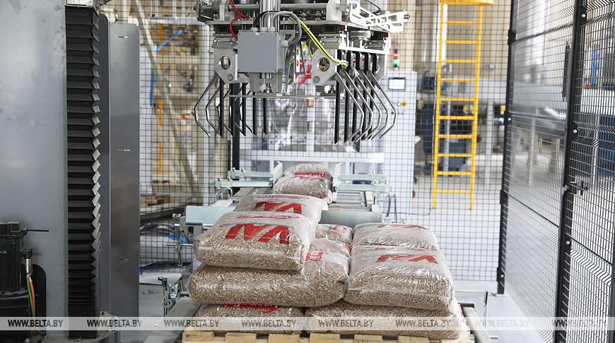 Пеллетное производство открылось в Новогрудском районе