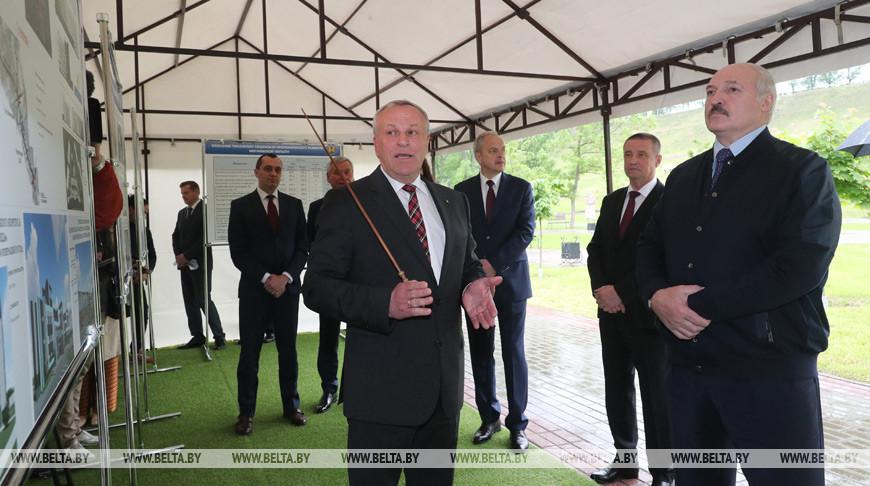 Лукашенко положительно оценил работы по развитию и благоустройству Могилева