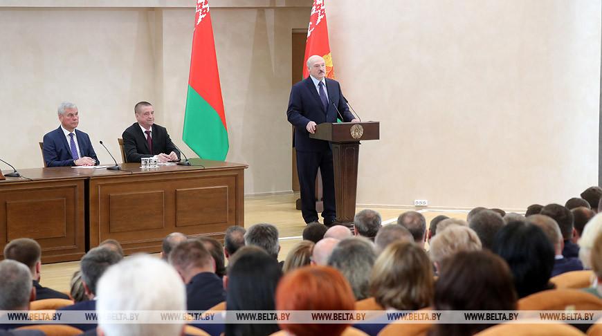 Лукашенко расставил акценты в развитии Могилевской области