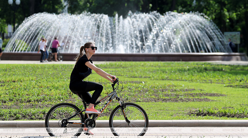В Минск пришло лето