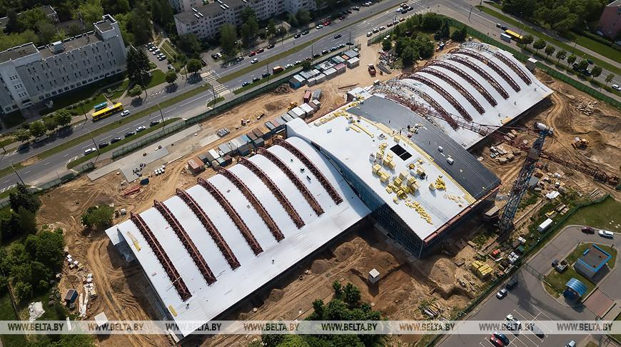 Новый теннисный центр строится в Минске