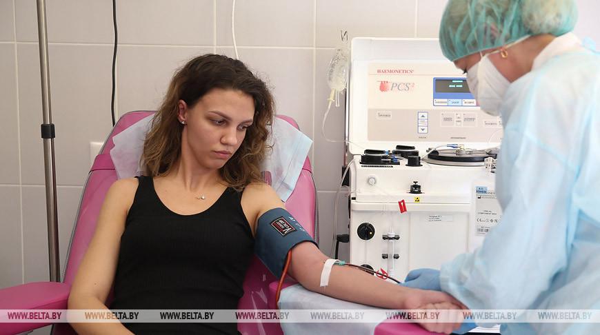 Более 100 человек за день стали донорами в минском центре трансфузиологии