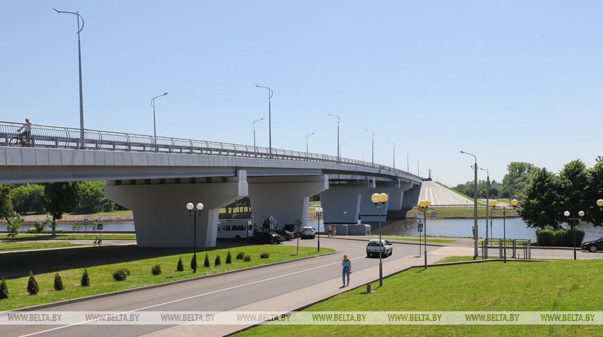 Автомобильный мост открыли после реконструкции в Пинске