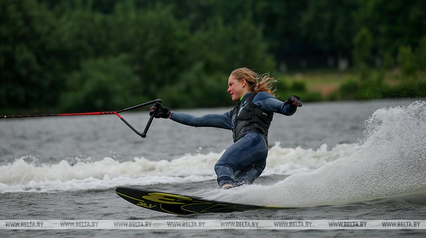 Кубок Беларуси по воднолыжному спорту прошел в Минском районе