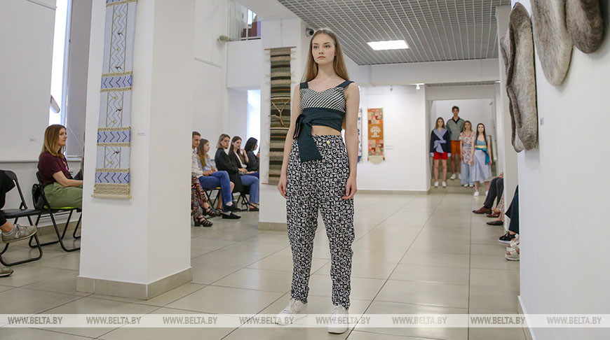 В Национальном центре современных искусств состоялось Fashion show