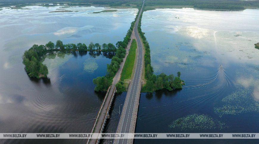 Чигиринское водохранилище - один из крупнейших водоемов Могилевской области