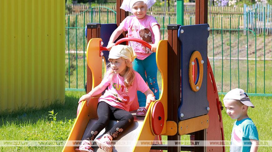 Обновленный детский сад действует в агрогородке Городище Шкловского района