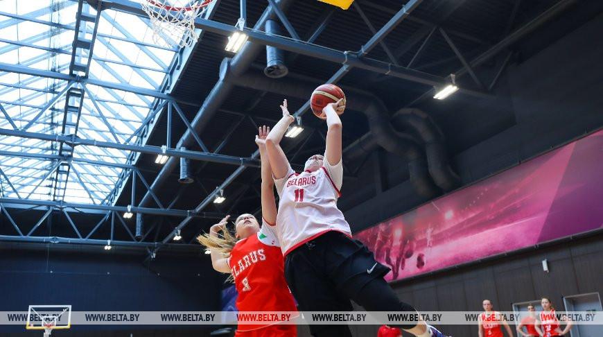 Сбор женской национальной команды по баскетболу проходит в Минске
