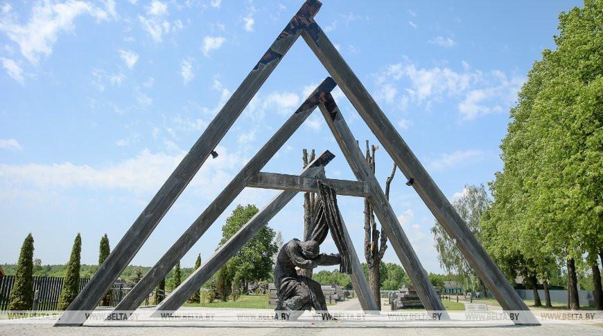 Завершается реконструкция мемориального комплекса в деревне Борки