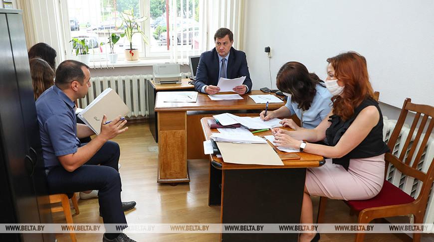 Рыженков провел прием граждан в Слуцке