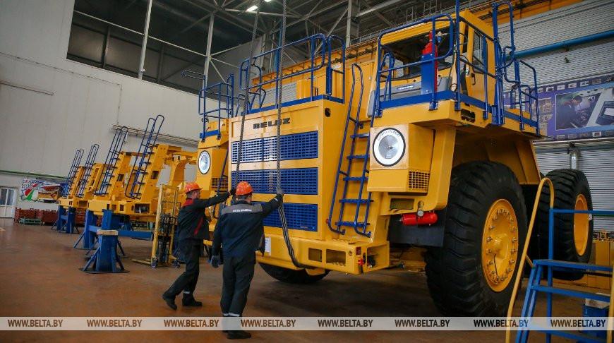 БЕЛАЗ - один из основных мировых производителей крупной карьерной техники