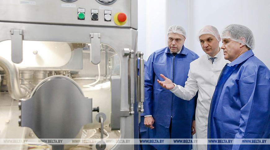 """Петришенко посетил РУП """"Белмедпрепараты"""""""