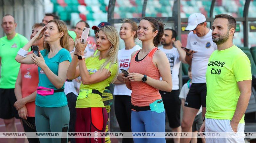 Команда Dream Team провела первую тренировку к Минскому полумарафону