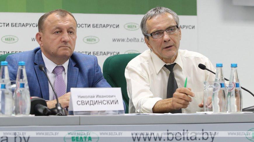 Брифинг о ситуации с замором рыбы в водоемах Беларуси прошел в пресс-центре БЕЛТА