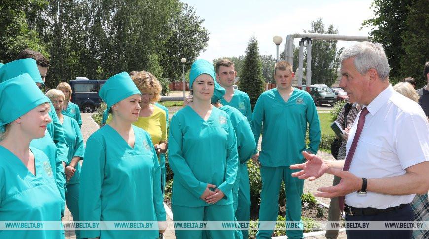 Андрейченко посетил Полоцкий молочный комбинат