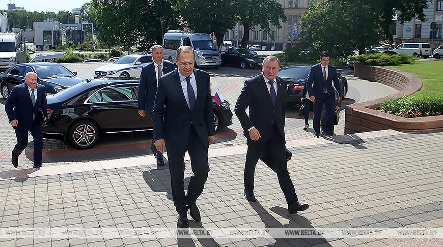 Встреча Макея и Лаврова состоялась в Минске