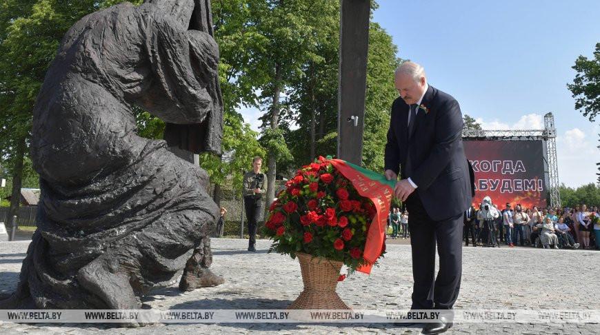 Лукашенко: боль и горе в годы войны стали для белорусов настоящей травмой