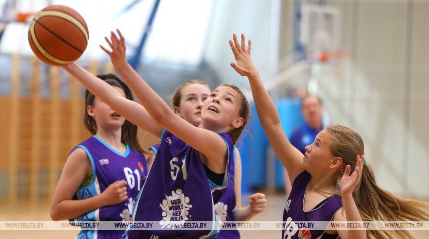 Тренировочный сбор баскетболисток прошел в Минске
