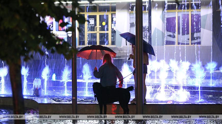 Улицы Бреста подтопило проливным дождем