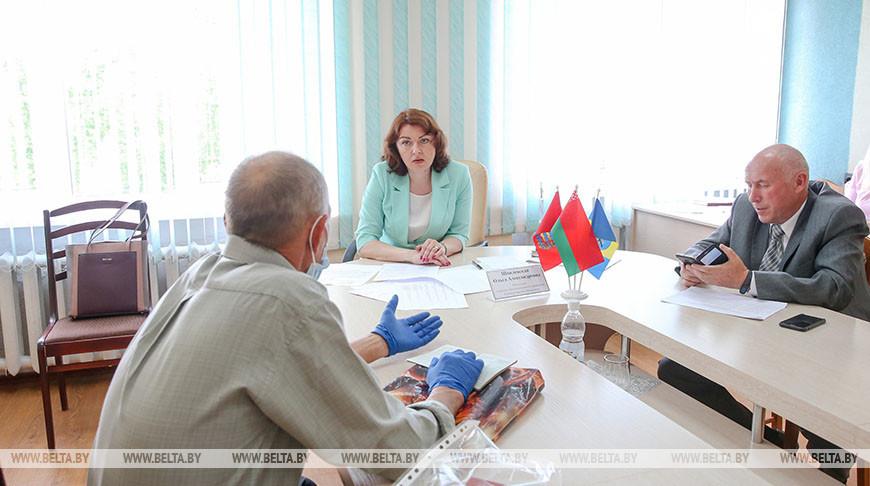 Шпилевская провела прием граждан в Дзержинске