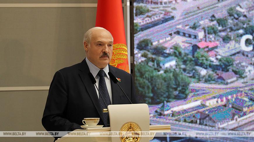 Лукашенко встретился с активом Брестской области
