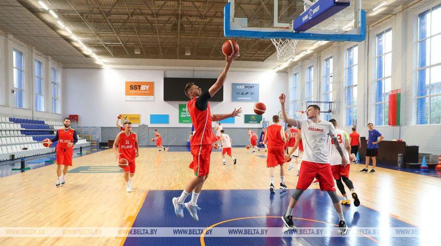 Сбор мужской национальной сборной по баскетболу проходит в Минске