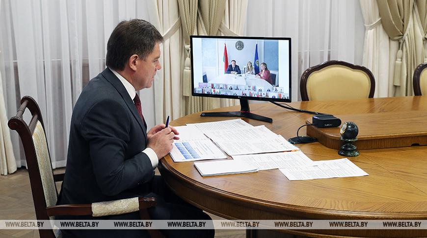 Петришенко принял участие в заседании Национальной комиссии по правам ребенка в формате видеоконференции