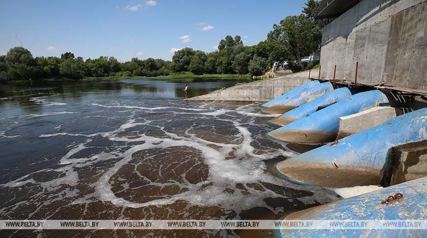 Новая гидроэлектростанция работает в Добруше