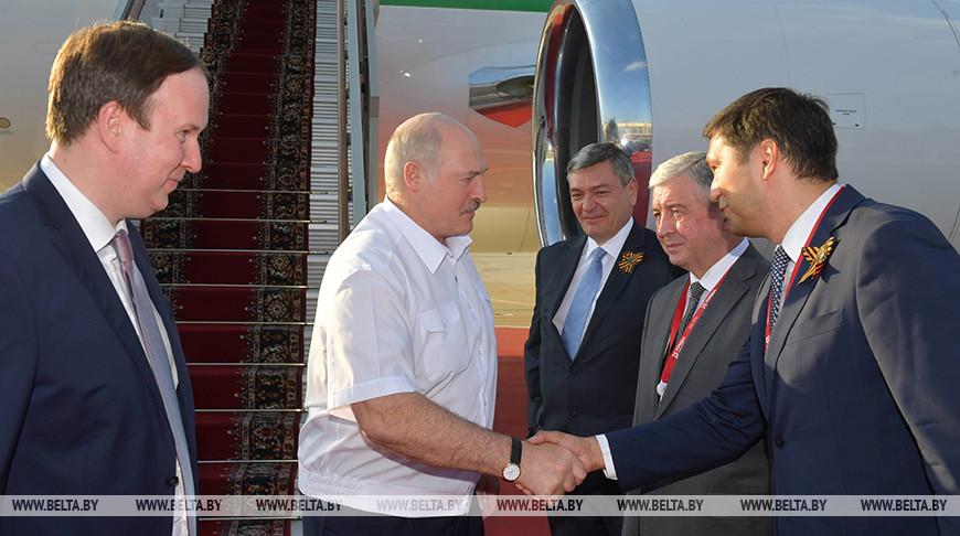 Лукашенко прибыл с визитом в Москву