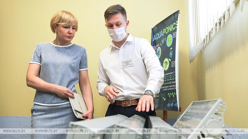 Заместитель главы Администрации Президента Ольга Чуприс посетила Полесский государственный университет