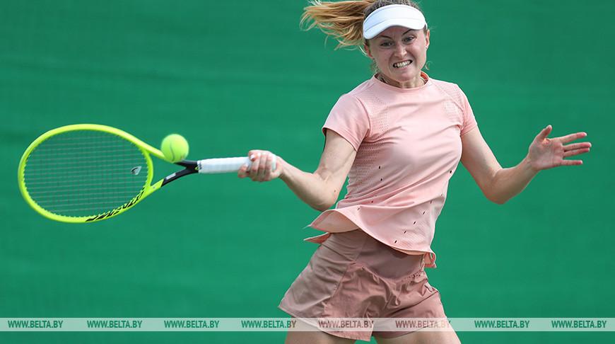 Открытый чемпионат Беларуси по теннису среди мужчин и женщин проходит в Минске