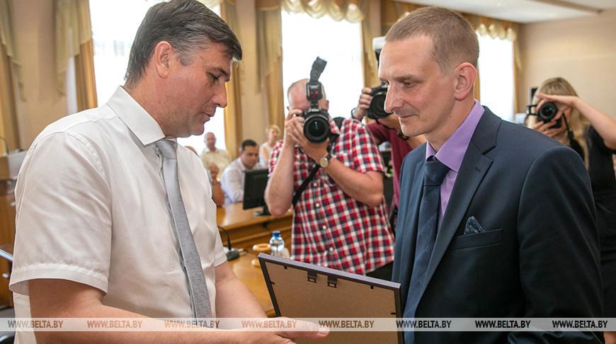 """Лауреатов почетного звания """"Витебчанин года"""" чествовали в городе над Двиной"""
