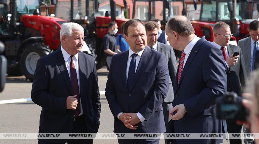 Головченко посетил МТЗ