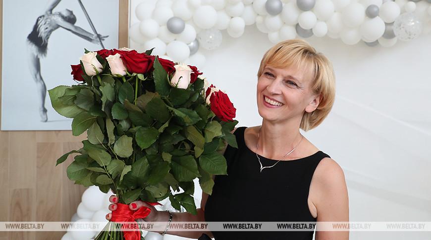 Олимпийскую чемпионку Марину Лобач поздравили с юбилеем