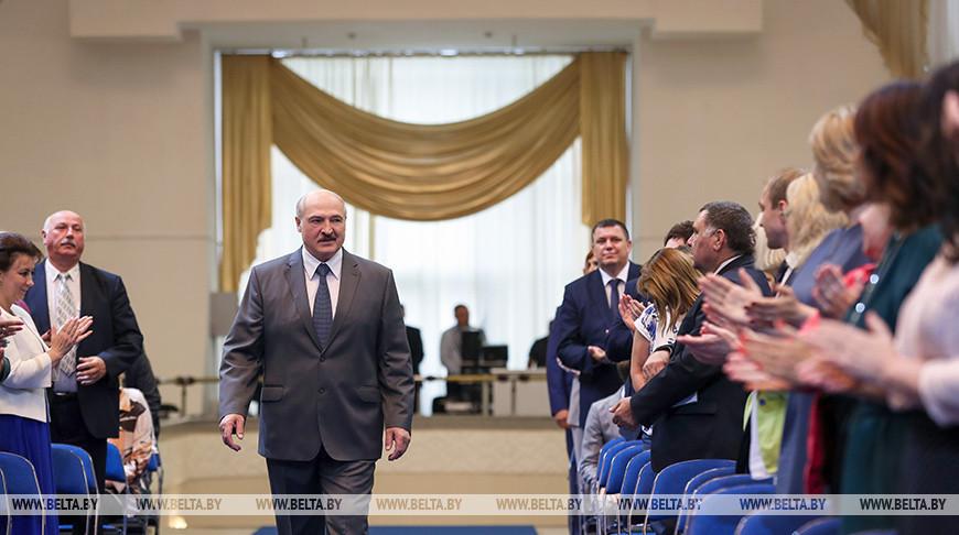 Лукашенко встретился с педагогическим активом Беларуси